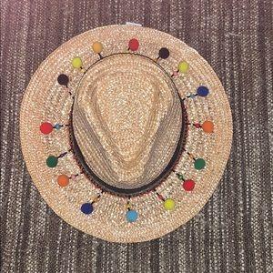 NWT Straw Tassel Hat // Anna & Ava // One Size